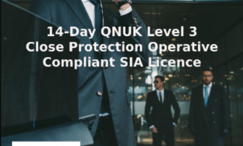14-Day Basic Close Protection Operative