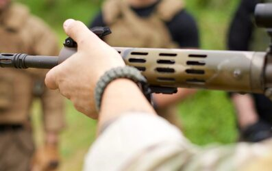 Carbine Live Shooting